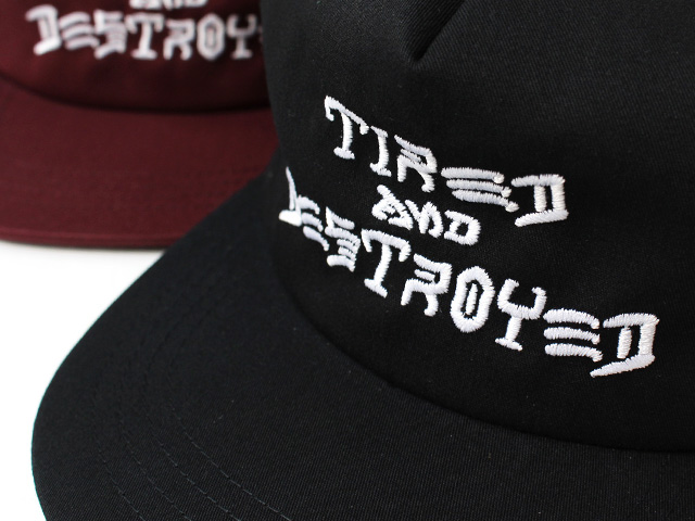 THRASHER x TIRED